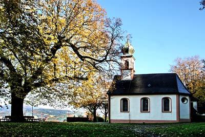 Tipps vor Ort - Giersberg Kapelle - Pension Föhrenbacher in Kirchzarten bei Freiburg